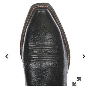 Ariat Shoes - Black Ariat snip toe western bootie sz. 10B